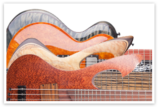 Custom Order Bässe und Gitarren von Kai Wahlbrink