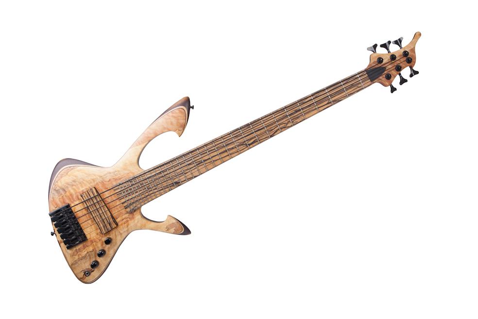 Custom E-Bass 6-String Aphrodite The Flame