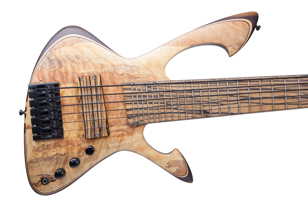 Custom E-Bass 6-String Aphrodite The Flame