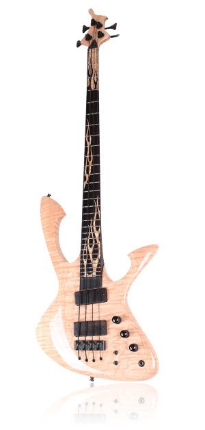 Custom E-Bass Aphrodite 4 String The Flame