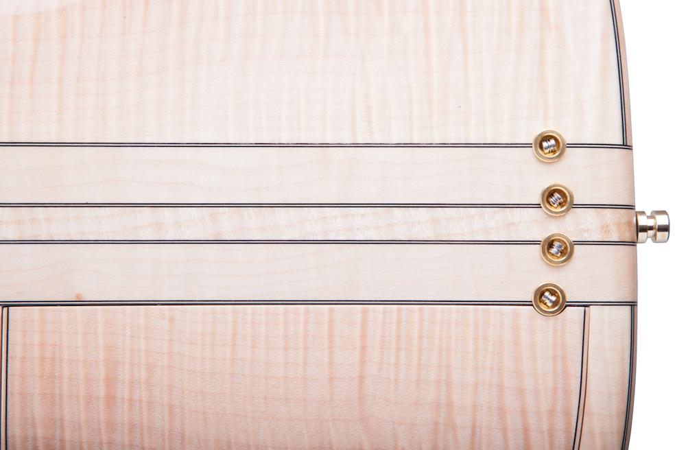 Custom E-Bass Apollon 4 String Fretless Sister of the Snake