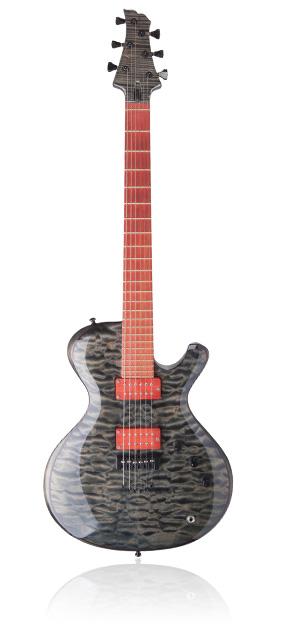 Custom E-Gitarre Ares 6-String Punk Ivory