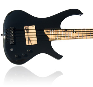 Custom E-Bass Hades 5 String, The Darkness