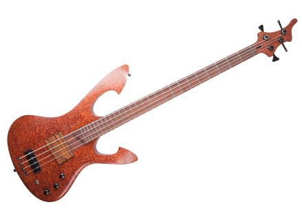Custom E-Bass Kronos 4 String Wooden Pleasure